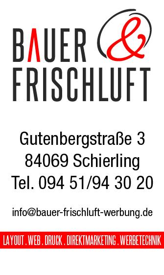 Bauer & Frischluft Werbung